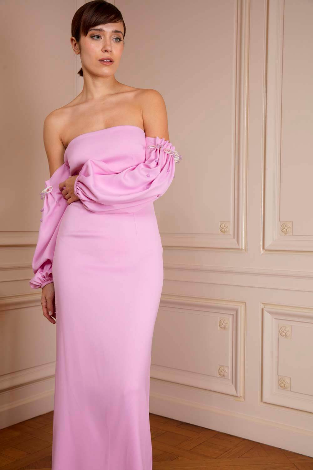 boutiquelessuites.com - LesSuitesOnline buy Safiyaa - Pink off-the ...