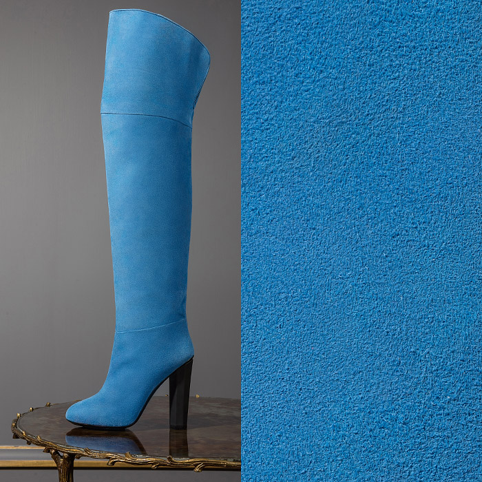 Blue boots